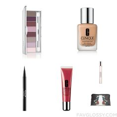 Cosmetics Mix & Match Including Clinique Eyeshadow Oil Free Makeup Stila Eyeliner And Clinique From September 2016 #beauty #makeup