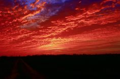 Red skies at night, Sailors delight