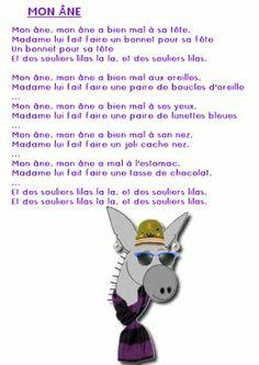 La maternelle de Laurène: Mon âne