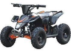 MotoTec MT-ATV3-Black Mini Quad v3 Black