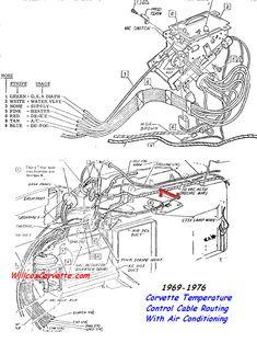 19731979corvettevacuumhoserouteheadlamp7379with
