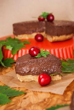 La asaltante de dulces: Receta de tarta de chocolate y cerezas sin horno/ No oven chocolate & cherry tart