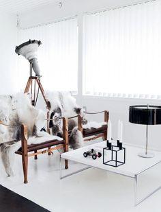 home of fashion designer David Andersen -