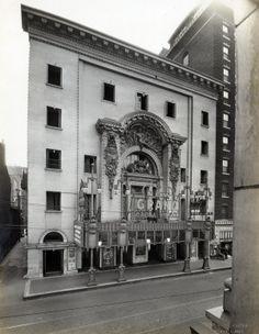 Grand Opera House Theater and York Hotel, 510 Market Street. (1926) Missouri History Museum