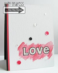 Hollybeary Creations, The Alley Way Stamps, TAWS, cards, clear stamps, Birthday Cards, Holly Endress , Bubbly