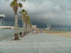 Barcelona - Before tornado