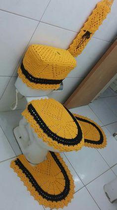 Crochet Top, Crochet Hats, Toilet Bowl, Bathroom Sets, Crochet Flowers, African Fashion, Crochet Earrings, Crochet Patterns, Knitting