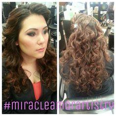 Bridesmaid makeup by #miracleamorartistry