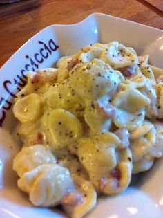 Orecchiette pancetta dolce e philadelphia I Love Food, Good Food, Pasta Recipes, Cooking Recipes, Cooking Pasta, Pasta Con Broccoli, How To Cook Pasta, Pasta Dishes, I Foods