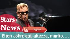 Elton John et altezza marito figli e vita privata del cantanteHD  Elton John tutto sul celebre cantante britannico Gossipetv vi svela vita privata e curiosit di uno degli artisti pi