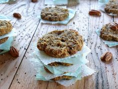 Plantain-Chia Seed Breakfast Cookies from Cook It Up Paleo