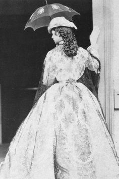 "Elisabeth Amalie Eugenie ""Sissi"" wife of Emperor Franz Joseph I Austria, in 1865 from back in Kramer photo set. Historical Costume, Historical Clothing, Old Pictures, Old Photos, Vintage Photographs, Vintage Photos, Die Habsburger, Kaiser Franz Josef, Empress Sissi"