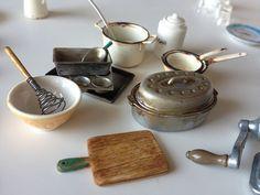 Chrysnbon Miniature Kitchen Utensils; Ioana Radu