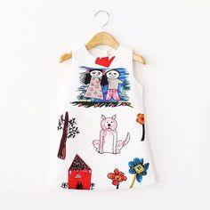 $9.03 (Buy here: https://alitems.com/g/1e8d114494ebda23ff8b16525dc3e8/?i=5&ulp=https%3A%2F%2Fwww.aliexpress.com%2Fitem%2FFashion-Girls-Chevron-Dresses-Bohemian-Next-Baby-Girls-Kids-cotton-beach-Dress-children-clothing-summer-autumn%2F1582915178.html ) Girls Winter Dress Baby Girl Clothes Scrawl Pattern Cotton Girls Dresses 2015 Brand Designer Princess Dress Kids Clothes 2-10Y for just $9.03