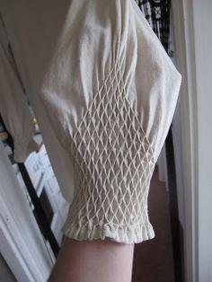 my raw silk hemd sleeve detail by learningtofly_katafalk, via Flickr
