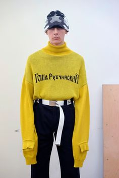 Gosha Rubchinskiy AW16 lookbook                                                                                                                                                                                 More