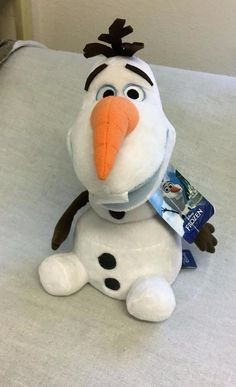 Disney Movie Frozen Plush Olaf Snowman 9 Inches w Tag #Disney