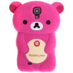 Precioso Rilakkuma alta calidad del estilo de Funda de silicona para Samsung Galaxy S4 i9500/i9505 (Rosy) para Vender - La Tienda En Online IGOGO.ES