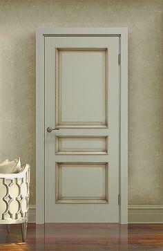Межкомнатная дверь «Монако». Отделка «каменно-серый патина» #дверирулес #двери…