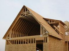 The attic truss is one of the most common roof truss types.