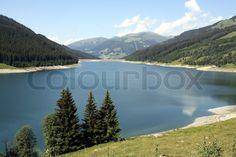 Stausee Durlaßboden im Gerlostal,Tirol. Tirol / Salzburg, Gerlospass, Silvenstein, Stausee Stock-Foto on Colourbox, (c) HaKo - Photo
