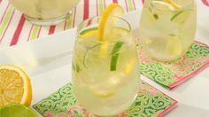 lemon-lime sangria! yum!