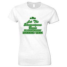 Bang Tidy Clothing Women's St Patrick's Day Shenanigans T Shirt White S BANG TIDY CLOTHING http://www.amazon.co.uk/dp/B00TIUHQNM/ref=cm_sw_r_pi_dp_xV.ivb0MXPNHN