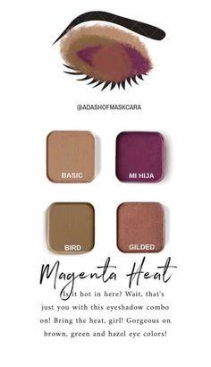 Maskcara Makeup, Maskcara Beauty, Makeup Tips, Eye Makeup, Hair Makeup, Cool Skin Tone, Colors For Skin Tone, Eyeshadow Tips, Eyeshadow Looks