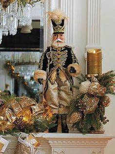 Standing stately atop your mantle or accent table, the General Nikolai Nutcracker Doll is an elegant addition to your Christmas display your guests are sure to love.