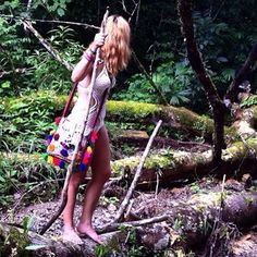 Finding new lands... Swimmy by @ecogypsy and bag by @rossioroos  #boho #disfunkshionmag #adventure #costarica #swimsuit # bags