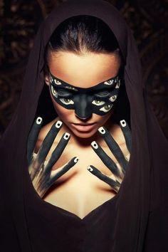 Angelina Bogdanova. #artistic #makeup #eyes