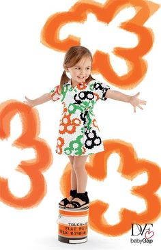 Gap Kids and DVF (Diane von Furstenberg) have joined creative forces to create a stunning line of kids clothes this season. So cute!!!