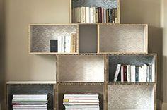 Come realizzare una libreria con vecchi cassetti - Fai da Te Mania
