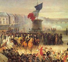 revolución francesa -En 1789, con el estallido de la Revolución francesa se inició su formación política. Al igual que su padre, fue un firme defensor de la Revolución. En junio de 1791, se incorporó con el grado de coronel al decimocuarto regimiento de dragones.