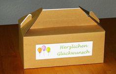 Geburtstagsbox  von Smilland auf DaWanda.com