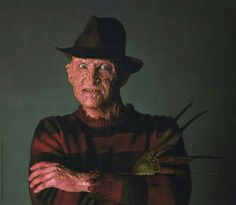 1, 2 coming for you Funny Horror, Horror Films, Horror Icons, It's Funny, Street Film, Robert Englund, Horror Pictures, Nightmare On Elm Street, King Kong