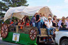 "FFA Parade Float ""Should Have Been A Ranger"" School Spirit"