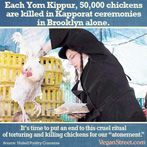 #foodmeme #foodfan #nutrition Kapporat, a traditional Jewish New Years ritual that sometimes involves the torture and murder of a chicken, is frowned upon by most Jews, but its still horrifying enough that we decided to devote three memes to it in one day. This is the third. http://veganstreet.com Nutrition and recipes here: http://www.authority-nutrition.com
