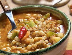 Zuppa di Farro e fagioli - Poggio del farro