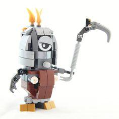 https://flic.kr/p/v9jtK1 | Reaper Minions with pacifier | LEGO Mixels series 5 Klinkers MAX moc  Bricks from 41536 Gox, 41537 Jinky & 41538 Kamzo  LDD File: www.bricksafe.com/files/dvdliu/Mixels-Klin-MAX-02-ReaperM...