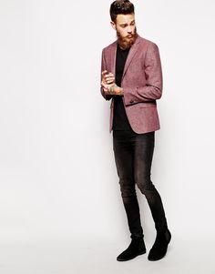 Blazer + polo + jeans para ir a CENAR
