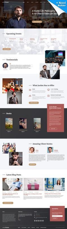 Life Coach Site Template - https://www.templatemonster.com/website-templates/jordan-turner-life-coach-website-template-61145.html