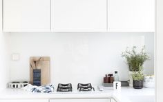 Time of the Aquarius  Minimalist kitchen counter. Can we pull this off?