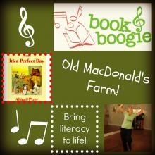 """Book & Boogie"" - Old MacDonald's Farm (literacy with music and movement)"