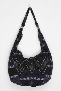 Urban Renewal Printed Sweater Hobo Bag. UrbanOutfitters.