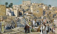 James Tissot. He Went Through the Villages on the Way to Jerusalem