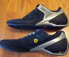 07817cf9123 Puma Ferrari Driving Shoes Mens Unique Design Rare sz 10