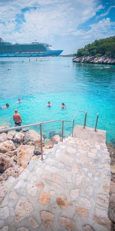 Labadee, Haiti | Step down and dive in.
