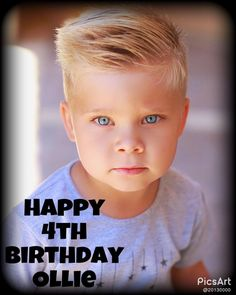 Happy 4th Birthday Ollie  Please Comment to Wish Ollie a Happy Birthday Now Thanks this pin will be on the Daily Bumps Board RIGHT Now !!!!!!!
