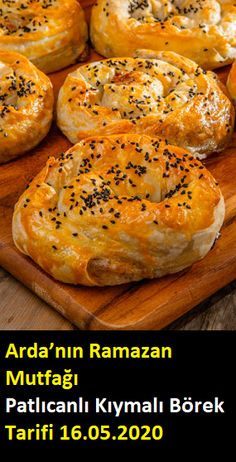 Turkish Recipes, Bagel, Muffin, Food And Drink, Bread, Fruit, Vegetables, Food Recipes, Muffins